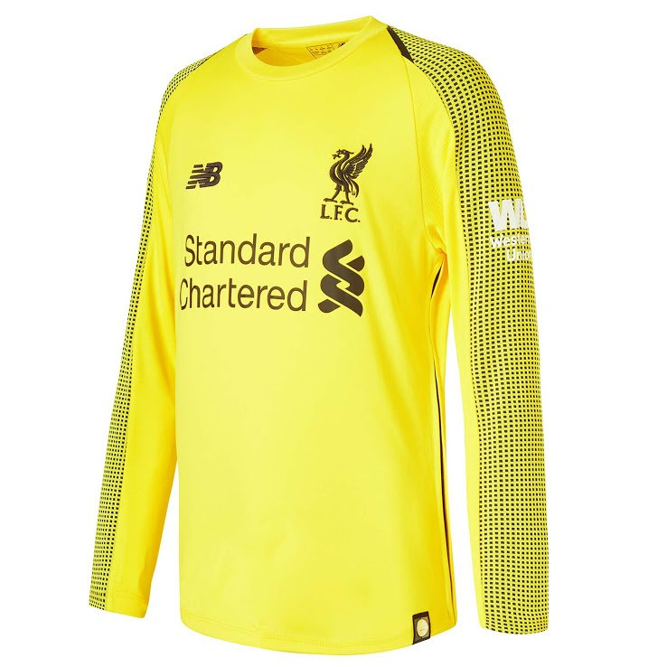 Liverpool's new 2018/19 home kit by New Balance