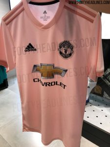 Manchester United 18-19 Away Kit New