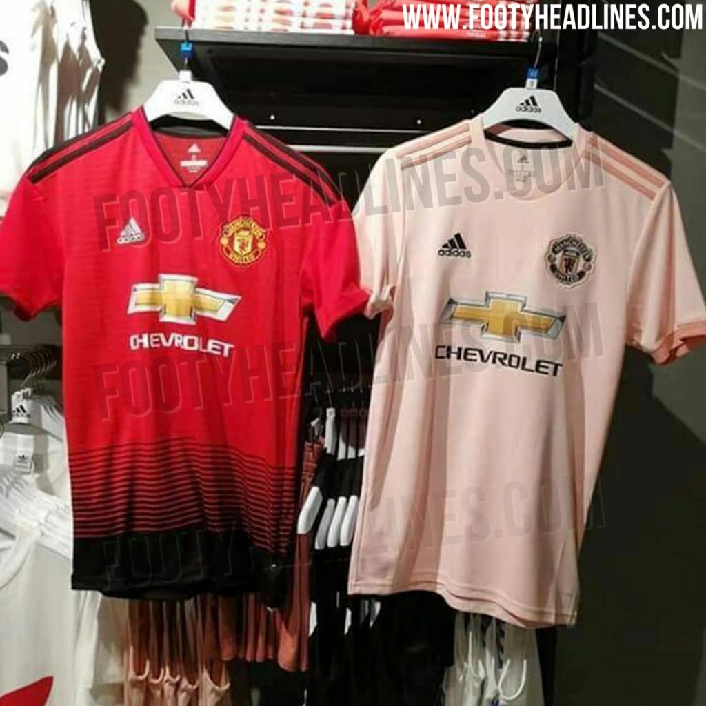 Pink Manchester United 18-19 Away Kit Leaked