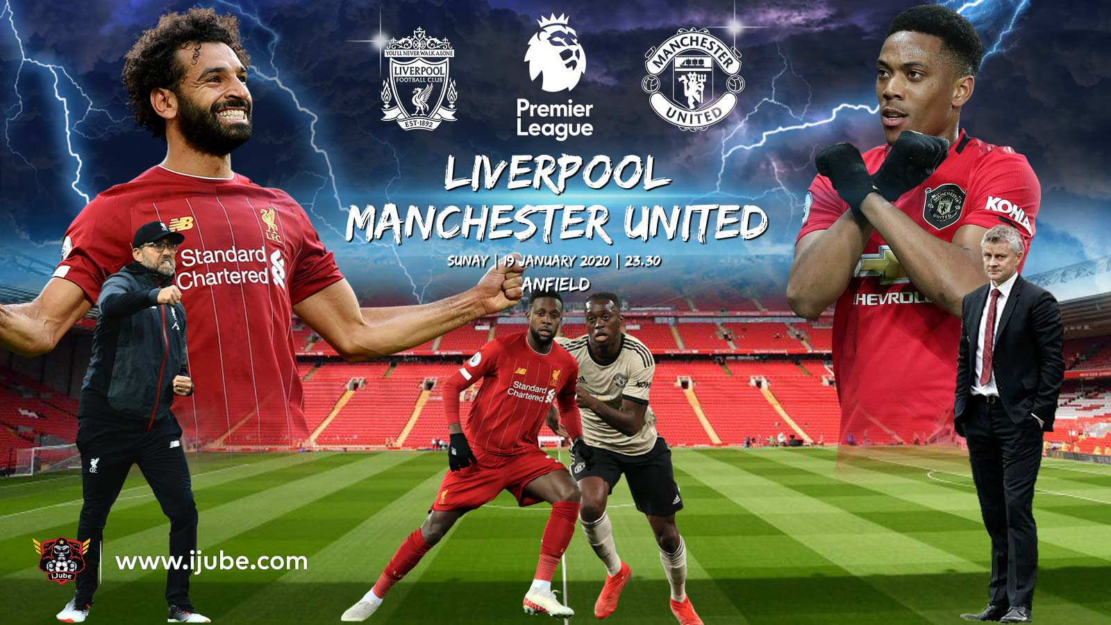 Big-Match-Premier-League-2019-2020-Liverpool-vs-Man-United-iJube | iJube.com